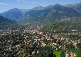 Thermal city of Merano