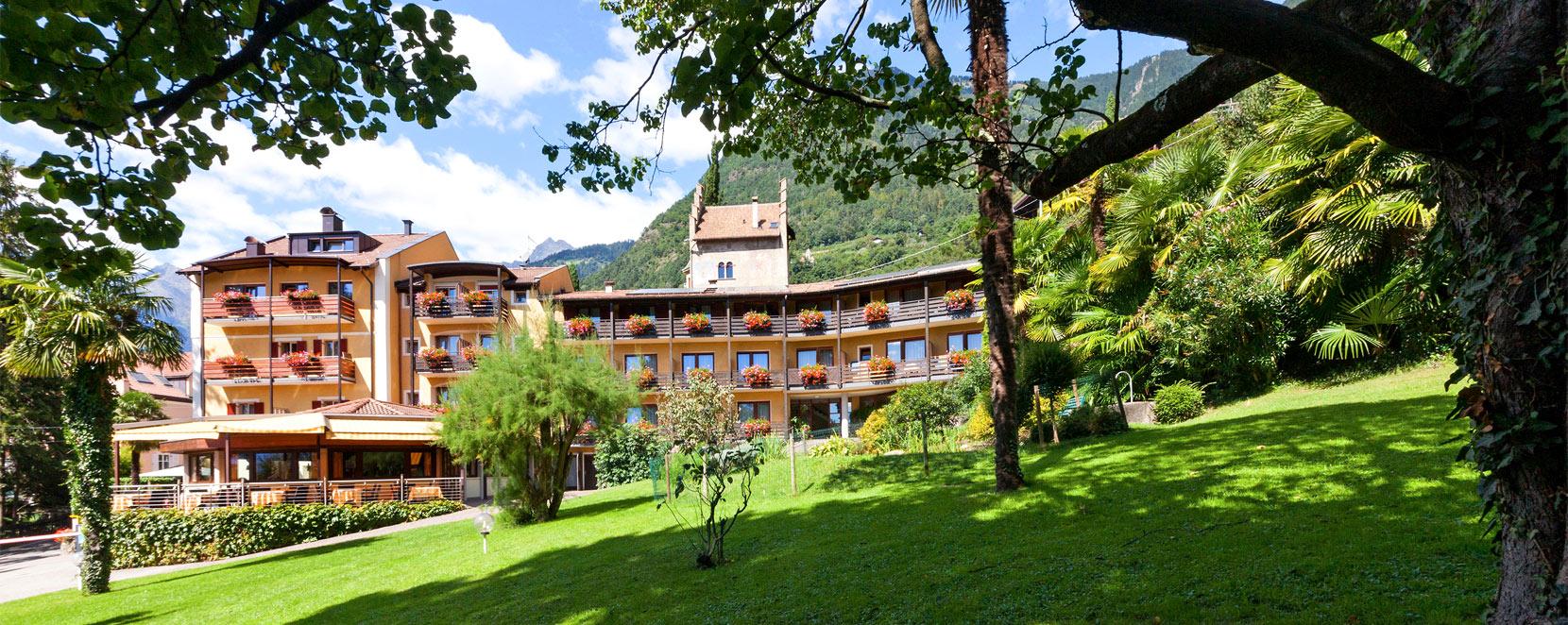 Hotel Dorf Tirol Meran Hotel Thurnergut S