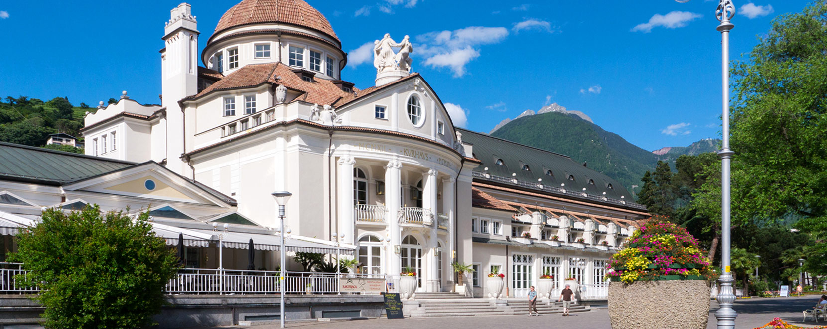 Merano Kurhaus in Merano South Tyrol